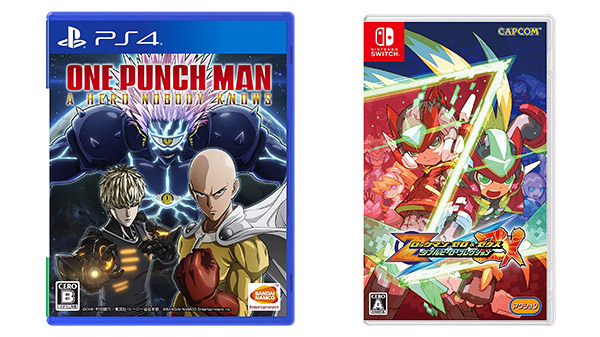 This Week's Japanese Game Releases: One Punch Man: A Hero Nobody Knows, Mega Man Zero/ZX Legacy Collection, more