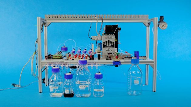 Automated DNA data storage system
