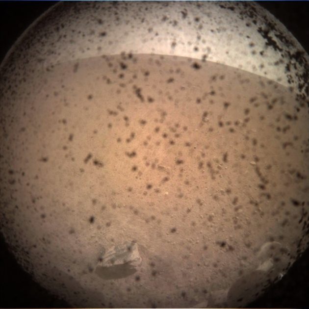 Mars InSight view