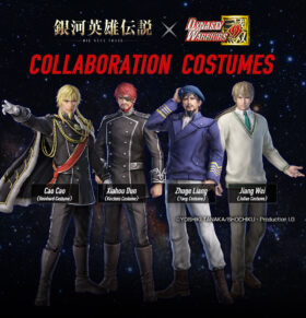 Dynasty Warriors 9 x Legend of the Galactic Heroes: Die Neue These Costumes