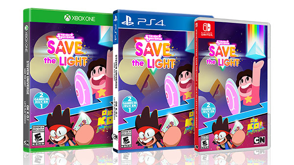 Steven Universe: Save the Light and OK K.O.! Let's Play Heroes bundle