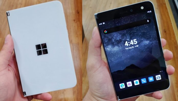 Surface Duo early look