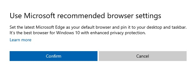Edge recommendation