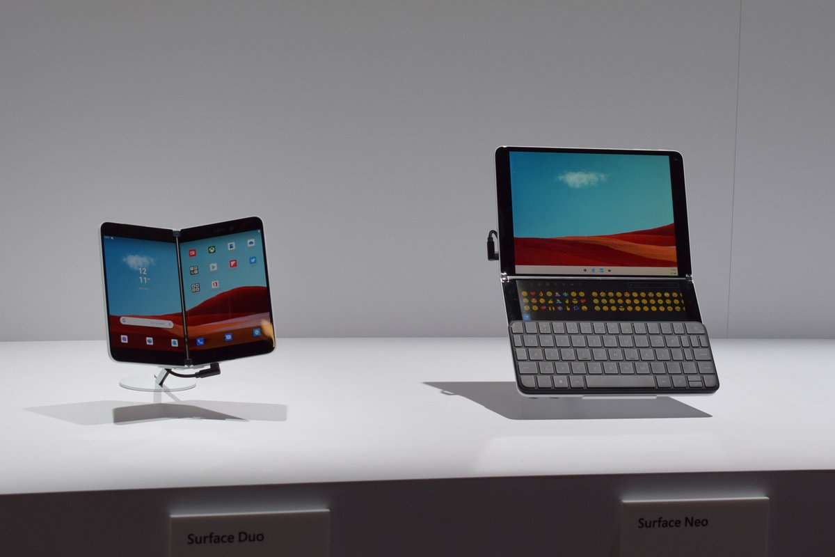Surface Neo with keyboard