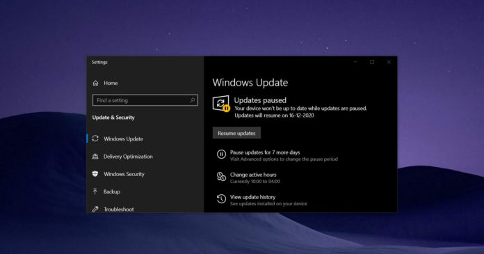 Windows 10 KB4592449 update