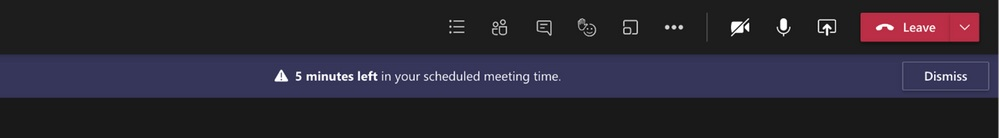 Meeting notifications