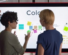 Microsoft Unveils Thin, Light Surface Hub 2 With 4K PixelSense Display And Tiling
