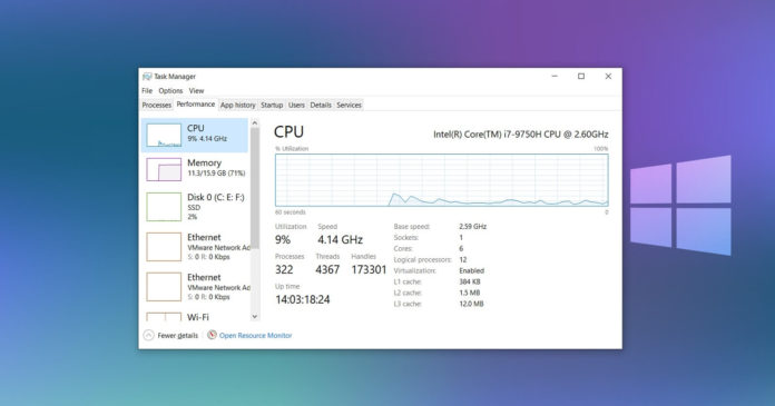 Windows 10 high CPU usage